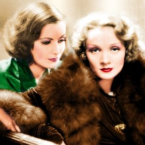 Image of Greta Garbo and Marlene Dietrich
